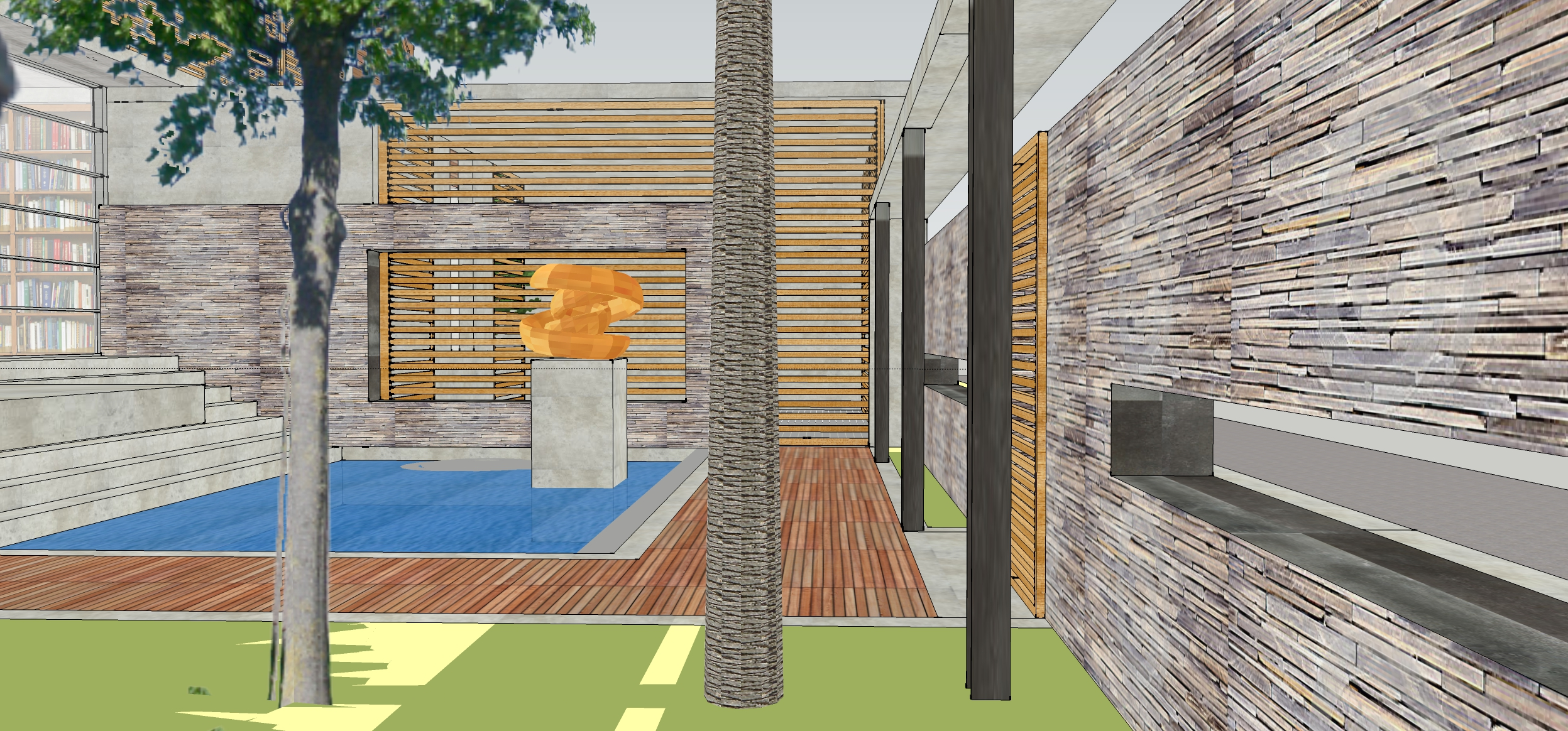 23 Entry Courtyard